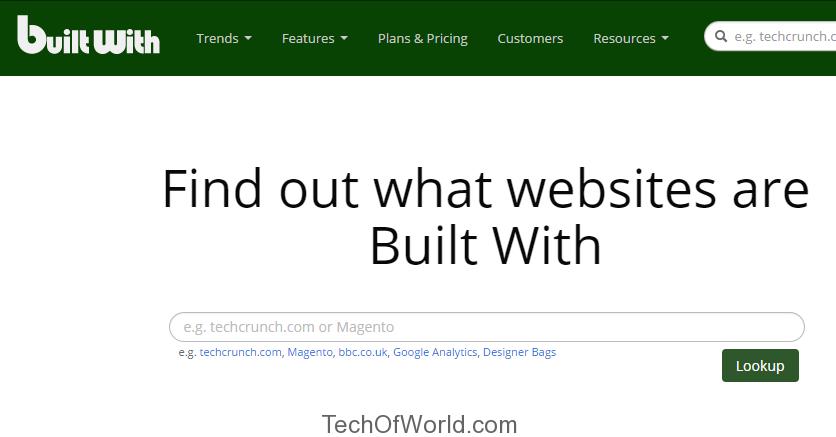 how to check website cms