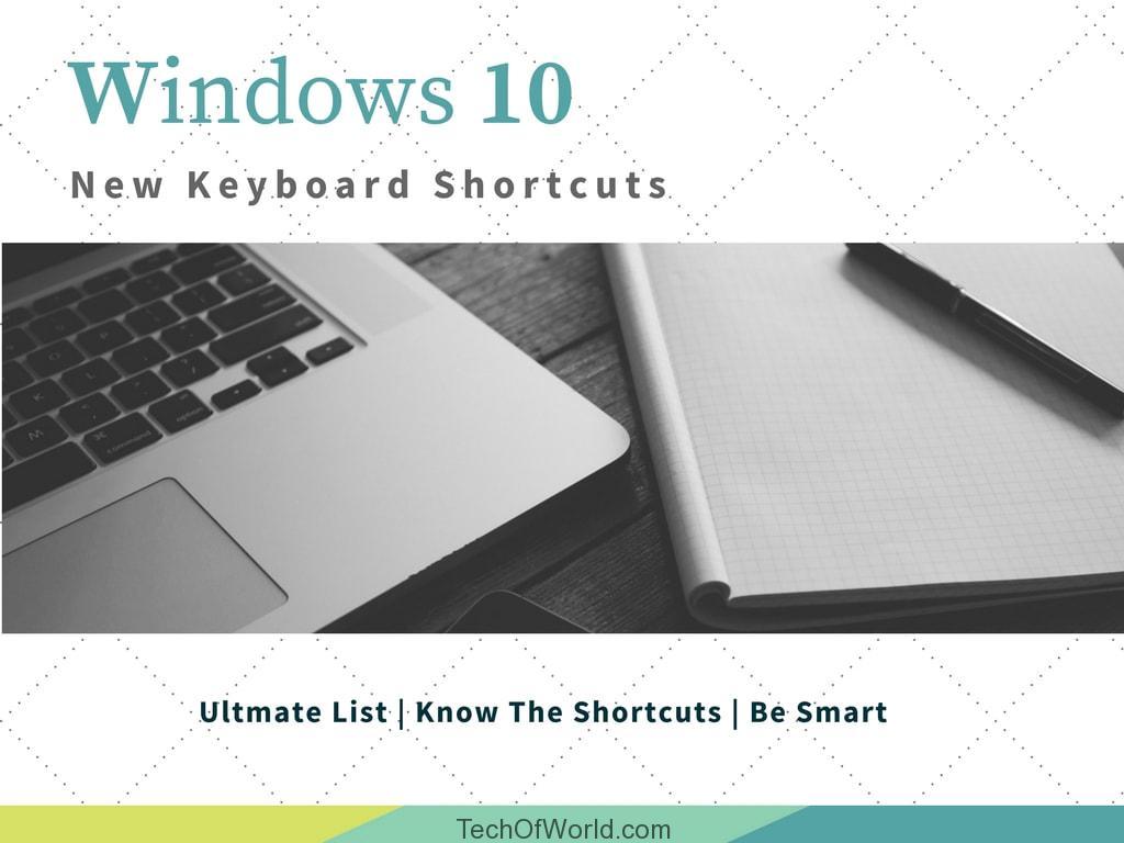 Ultimate Keyboard Shortcuts Cheat Sheet Windows 10